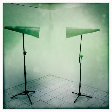Robin de Vogel's sound installation