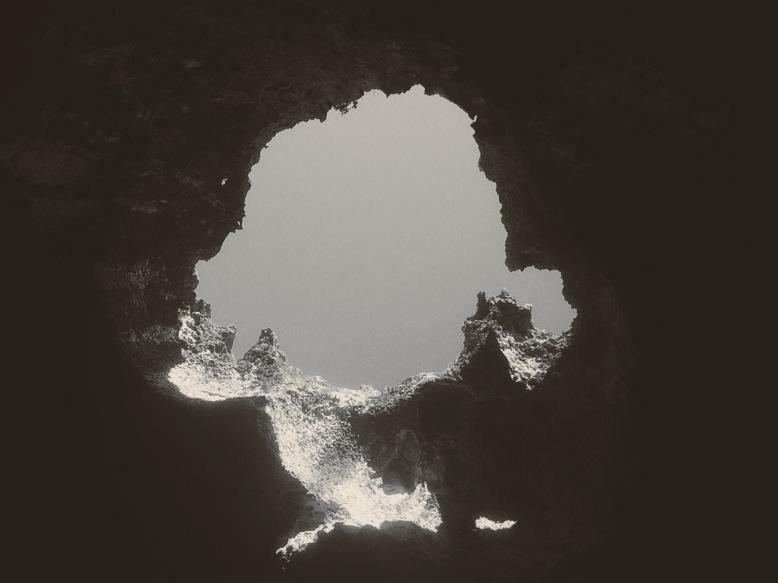 In the Quadirikiri caves.