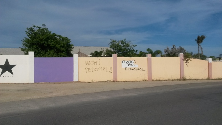 Aruba graffiti