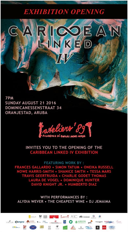 Caribbean Linked IV Exhibition Flyer