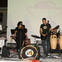 Aruban reggae band Cozmic Stonez at the Caribbean Linked IV opening