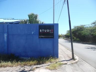 Osaira Muyale's studio.