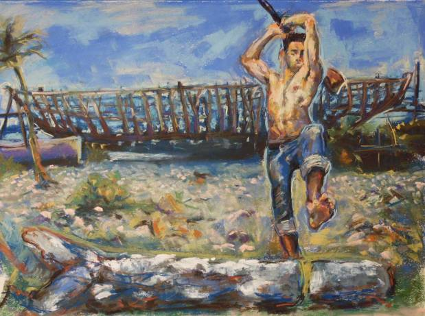 'Boat Builder' by Simon Tatum