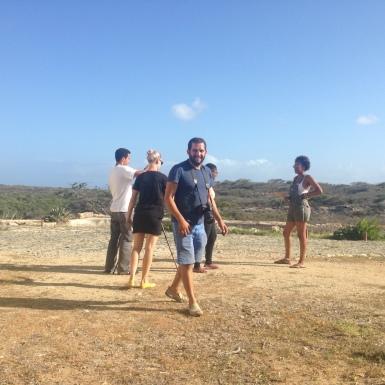 Caribbean Linked IV artists at Balashi Gold Mill