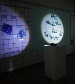 Katherine Kennedy, Desalination, Mixed media, light and shadow installation, 2016. Photo courtesy of Nowe Harris Smith