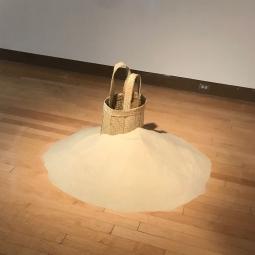 Averia Wright, Beach series, Performance and installation, 2016