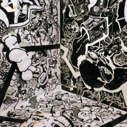 Raily Yance, Tomate es gratis pintura industrial sobre Plástico, 2m cubed, Maracaibo, 2012