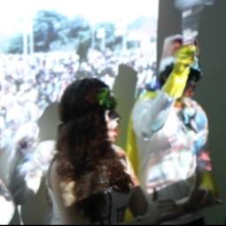 Sharelly Emanueslon, Hidden Transcripts (NL), Live interactive event, 2014