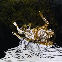 Velvet Zoe Ramos, Oh Horizon, Linocut, 2017
