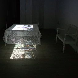 Sharelly Emanuelson, En mi pais, Video installation, 2018. Photo courtesy of the artist.