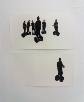 Segway studies by Raily Stiven Yance.