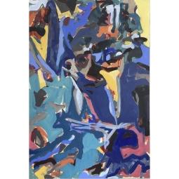 John Reno Jackson, ravenous plea, money promised, Acrylic and Charcoal on Canvas. 32 x 37 inches, 2019